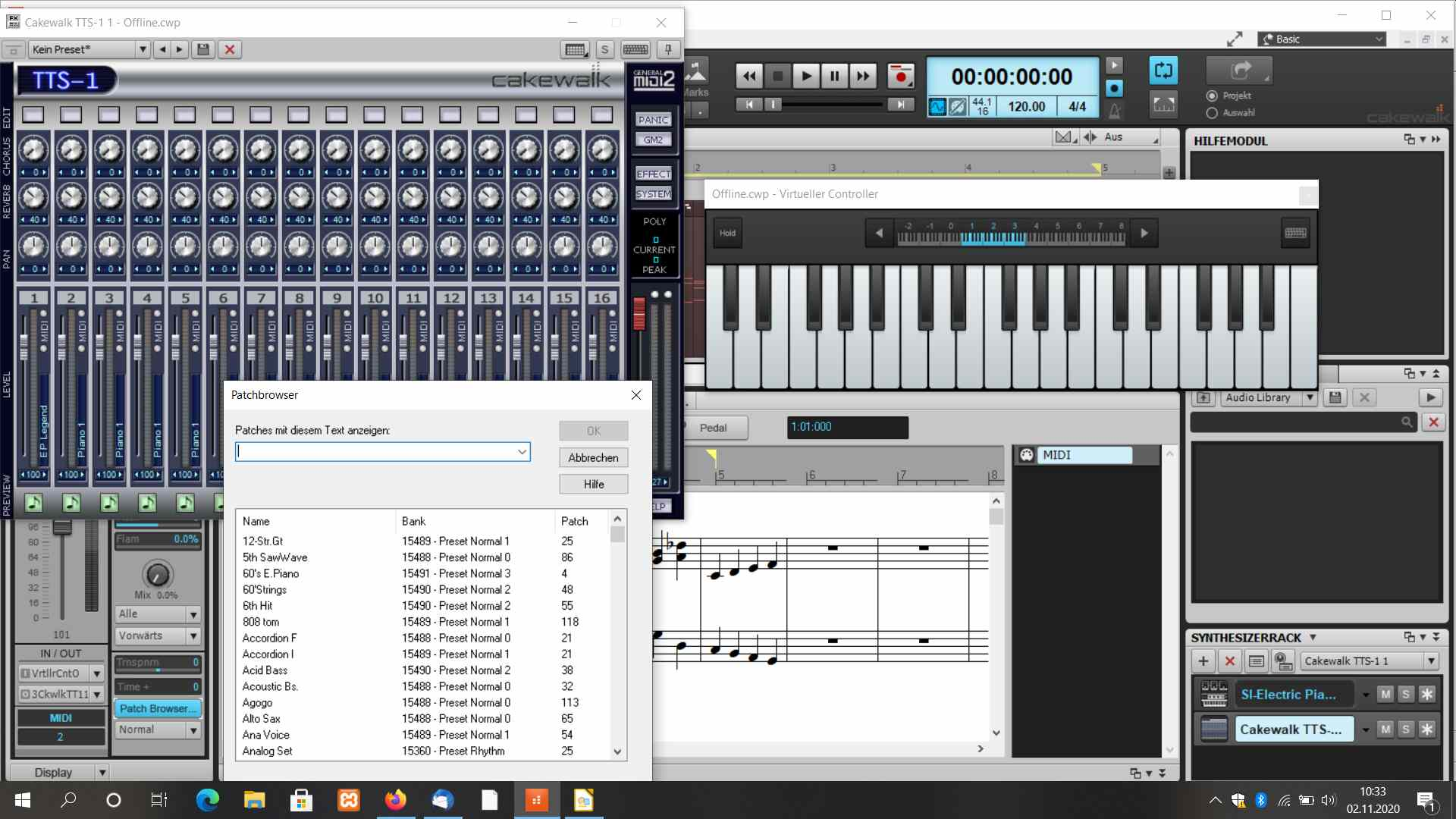 Read more about the article Music workstation