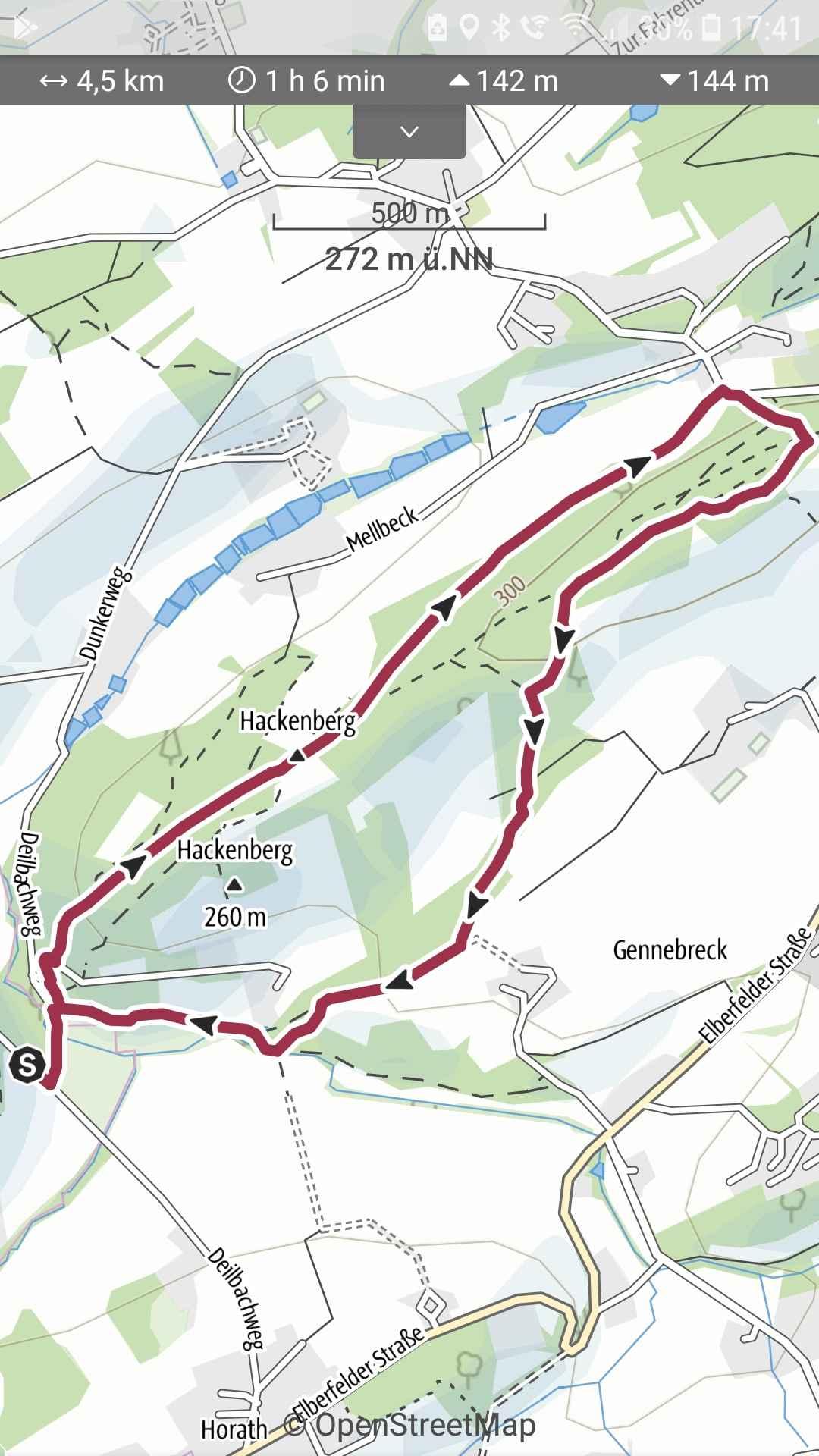 Hackenberg und Deilbachtal bei Horath