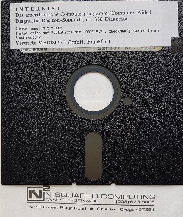 Internist – Expertensystem von 1986
