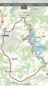 Read more about the article Radtour Lennep, Wuppersperre und Trasse